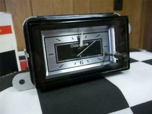 1977 1978 Oldsmobile Cutlass Clock