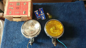 Vintage Bosch Fog Light Driving Light Mercedes Porsche 356 Vw Beetle Split Bus