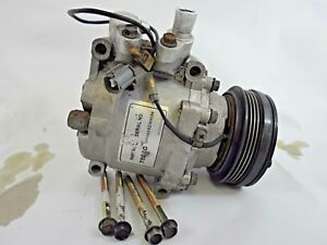99 00 Honda Civic Ac Air Compressor With Clutch And Pulley Manual Transmission