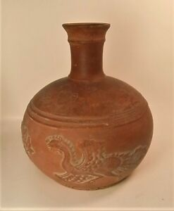 Very Rare Ancient Roman Red Pottery Carafe Terra Sigillata 1st Entury Bce Ace