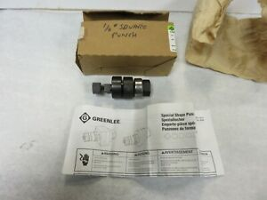 Greenlee Punch Set Knockout Punch Chassis Punch Square 1 2