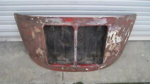 Porsche 356 b C 1963 1965 Engine Lid Double Grille Model Genuine German