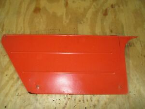 Case Vac Tractor Hood Side Panel
