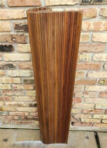 60 S George Nelson Herman Miller Action Desk Replacement Walnut Tambour Roll Top