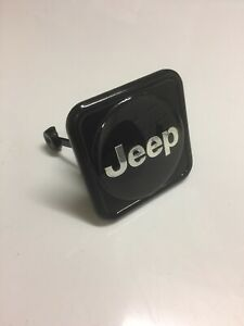 Jeep Hitch Cover Yj Cj Liberty Perfect Condition Fits 2 Tow Receiver