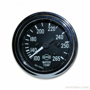 Isspro R8734 Classic 100 265 f Mechanical Water Temperature Gauge With Sender