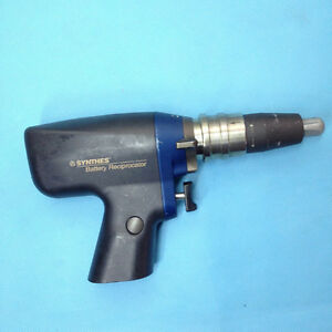 Synthes 530 615 Battery Reciprocator Ortho Drill Used