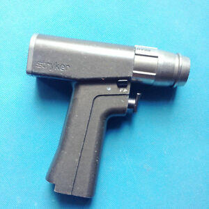 Used Stryker 6203 System 6 Rotary Drill Handpiece With Charger Pin with 60 Days