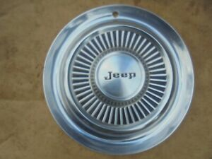 1960s 1970s 63 75 Jeep Wagoneer Commando Jeepster 15 Wheel Cover Hub Cap
