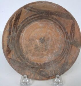 Bronze Age Indus Valley Decorated Terracotta Plate Circa 2500 1900 Bc