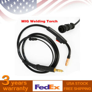 Miller M 10 M 100 Heavy Duty 100a Mig Welding Torch Tool W 10ft Cable Durable