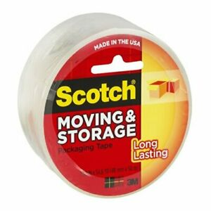 3m 3650 2 X 55 Yds Clear Scotch Super Packaging Tape