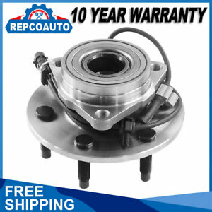4x4 6 Lug Front Wheel Bearing Hub Assembly For Gmc Sierra Chevy Silverado 1500