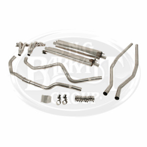 Classicfabs Jaguar Xk140 Twin Stainless Steel Exhaust System Manual Trans Only