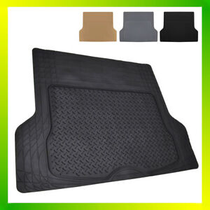 All Weather Heavy Duty Car Rubber Cargo Floor Mat Rear Back Runner Trimmable Suv