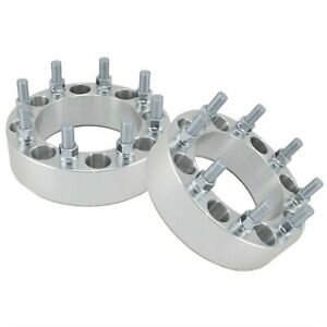 2 2 8x6 5 Wheel Spacers For Chevy 3 4 Ton 1 Ton Trucks Dually Offoad Forged