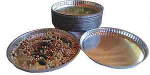 Disposable Aluminum Weighing Lab Dish Pans 90mm In Diameter 100 Count 9 Cm