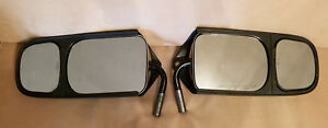 Late Model Chevy Silverado Gmc Oe Factory Slideview Towing Extention Mirror Pair