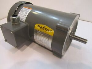 Baldor Vm3546 Electric Motor 1 Hp 1725 Rpm 230 460 Volt