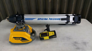 use Spectra Precision Model Hv101 Self leveling Laser