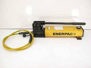 Enerpac P 802 Hydraulic Hand Pump 2 Speed 10 000psi Single Acting Usa Made