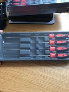 Snap On Pick Set 4 Piece Extra Long In Orange New