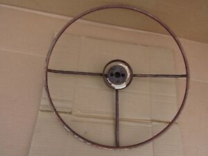 1930 s 1940 s 17 5 8 Steering Wheel Core Chevy Ford Pontiac Olds Dodge Buick