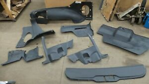 82 92 Camaro Firebird Original Black Interior Trim Set Panels Trims