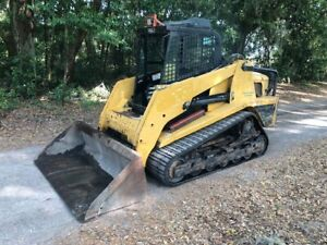 Asv Rc100 Posi Track Skid Steer Loader Hi Flow 2 Spd Hyd Qt 100hp Forestry Pkg