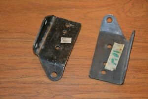 Mgb Motor Mount Brackets 1962 74 5 460 170 And 460 180