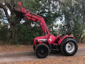 2010 Mahindra 8560 4x4 Tractor With Loader Ready To Work
