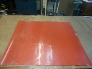 Silicone Rubber Sheet 1 8 Thk X 48 wide X 48 Long Free Shipping