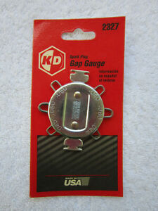 Kd Tools Spark Plug Gap Gauge 0 040 0 080 Part 2327 Usa Made