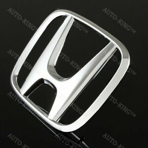 Chrome Front Grille H Emblem For Honda Civic Sedan 4 Door 2012 2015 New