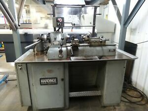 Hardinge Super Precision Dsm59 Lathe Variable Speed W Double Tool Cross Slide