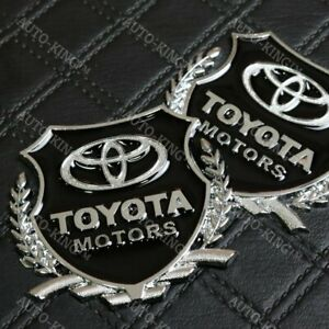 Vip 3d Metal Emblem Car Trunk Side Wing Fender Decal Badge Sticker For Toyota X2