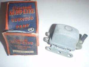 Nos Auto Lite Overdrive Transmission Solenoid Relay 39 Studebaker 9a Commander