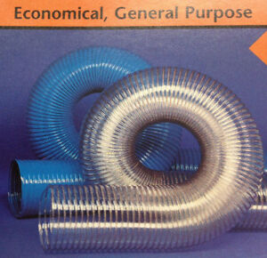 7 id Cvd Clear Pvc Hose ducting With Wire Helix 25 Feet