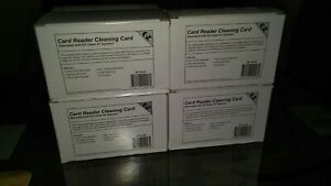 Card Reader Cleaning Swipe Cards 10boxes 50 Cards Per Box