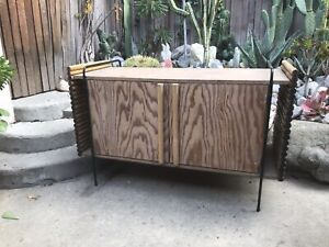 Vintage Wroughtan Credenza Ritts Co