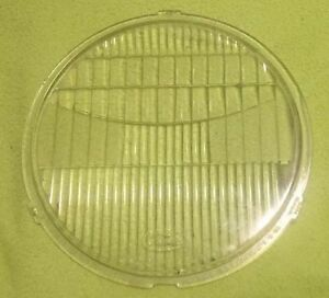 Vintage Ford Marked Headlamp lens 1920 30 s Single 8 1 2 In