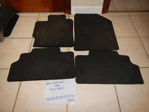 2008 Scion Xd Oem Floor Mats black