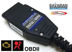 Bavarian Technic Tool Bmw Mini Diagnostic Scanner Airbag Reset Usb Odbii Basic