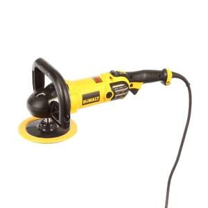 Dewalt Dwp849x 12 Amp 7 In 9 In Variable Speed Polisher With Soft Start