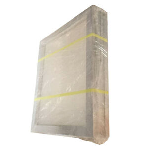 Us Stock 6pcs 18 X 20 Aluminum Screen Printing Frame With 110 White Mesh Count