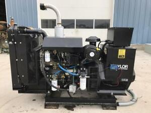 __100 Kw Taylor Generator Set 12 Lead Reconnectable Perkins Engine Low Hours