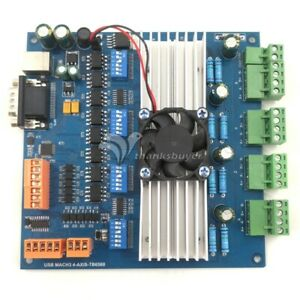 Mach3 Usb 4 Axis Tb6560 Stepper Motor Driver Board With Mpg Usb usb Cable cd New