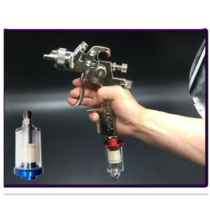 Inline 1 4 Oil Water Separator Air Filter Fit Compressor Spray Paint Gun Tool