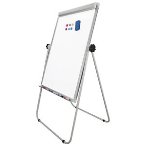 36x24 Magnetic Dry Erase Easel White Board U Stand Display Adjustable Kids
