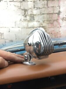 1950 S 60 S Ford Chevy Mopar Microphone Style Dash Ornament Hot Rod Rat Rod